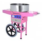 Аппарат для производства сахарной ваты на тележке Hurakan HKN-C2-T фото, купить в Липецке | Uliss Trade