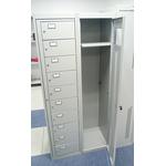 Шкаф LS-01-10 - шкаф выдачи сменной одежды фото, купить в Липецке | Uliss Trade