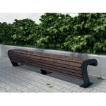 Скамья из листа 2,0м фото, купить в Липецке | Uliss Trade