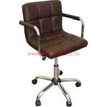 Офисное кресло для персонала CH-9400 коричневое фото, купить в Липецке | Uliss Trade