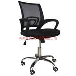 Офисное кресло для персонала RT-696 черное фото, купить в Липецке | Uliss Trade