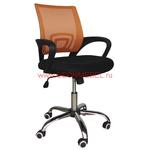 Офисное кресло для персонала RT-696 оранжевое фото, купить в Липецке | Uliss Trade