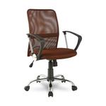 Кресло для персонала RT 588 коричневое фото, купить в Липецке | Uliss Trade