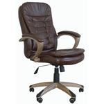 Офисное кресло персонала коричневое RT-202 фото, купить в Липецке | Uliss Trade