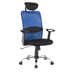 Офисное кресло для персонала Н-8878 blue фото, купить в Липецке | Uliss Trade