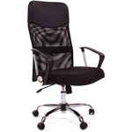 Кресло руководителя CHAIRMAN 610, экокожа + сетка / ткань фото, купить в Липецке | Uliss Trade