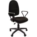 Кресло оператора CHAIRMAN Престиж Эрго, чёрная ткань (15-21) фото, купить в Липецке | Uliss Trade