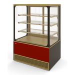 Холодильная витрина Veneto VS-0,95 Cube крашенная фото, купить в Липецке | Uliss Trade