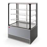 Холодильная витрина Veneto VS-0,95 Cube (нерж.) фото, купить в Липецке | Uliss Trade