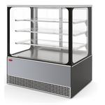 Холодильная витрина Veneto VS-1,3 Cube (нерж.) фото, купить в Липецке | Uliss Trade