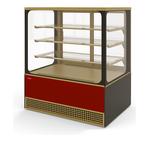 Холодильная витрина Veneto VS-1,3 Cube крашенная фото, купить в Липецке | Uliss Trade