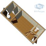 Блок-контейнер СТ-49 фото, купить в Липецке | Uliss Trade