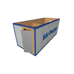 Блок-контейнер БК-01 отделка панелями МДФ фото, купить в Липецке | Uliss Trade