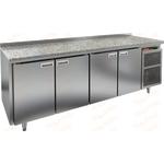 Стол холодильный HICOLD SN 1111/TN камень фото, купить в Липецке | Uliss Trade