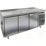 Стол холодильный HICOLD SN 111/TN камень фото, купить в Липецке | Uliss Trade