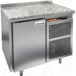 Стол холодильный HICOLD SN 1/TN камень фото, купить в Липецке | Uliss Trade