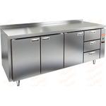Стол холодильный без агрегата HICOLD GN 1113/TN P фото, купить в Липецке | Uliss Trade