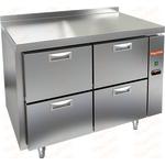 Стол холодильный без агрегата HICOLD GN 22/TN P фото, купить в Липецке | Uliss Trade