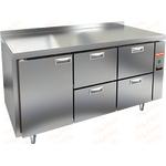Стол холодильный без агрегата HICOLD SN 122/TN P фото, купить в Липецке | Uliss Trade