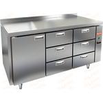 Стол холодильный без агрегата HICOLD SN 133/TN P фото, купить в Липецке | Uliss Trade