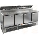 Стол холодильный для пиццы HICOLD PZE2-1111/GN камень фото, купить в Липецке   Uliss Trade
