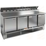 Стол холодильный для пиццы HICOLD PZE2-1111/GN фото, купить в Липецке   Uliss Trade