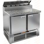 Стол холодильный для пиццы HICOLD PZE2-11/GN камень фото, купить в Липецке   Uliss Trade