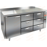 Стол морозильный без агрегата HICOLD SN 133/BT P фото, купить в Липецке | Uliss Trade