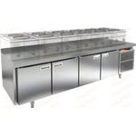 Стол морозильный под тепловое оборудование HICOLD GN 1111/BT LT фото, купить в Липецке | Uliss Trade