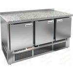 Стол охлаждаемый HICOLD SNE 111/TN камень фото, купить в Липецке | Uliss Trade