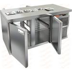 Стол охлаждаемый для салатов саладетта HICOLD SL2T-11/SN фото, купить в Липецке | Uliss Trade