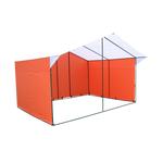 Торговая палатка «Домик» 4 х 3 из квадратной трубы Ø 20х20 мм фото, купить в Липецке | Uliss Trade