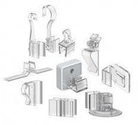 Крепежные аксессуары для пластиковых рамок * Пластиковые рамки и аксессуары * Uliss Trade