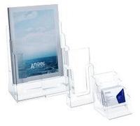 Буклетницы и подставки под визитки * Перекидные системы и буклетницы * Uliss Trade
