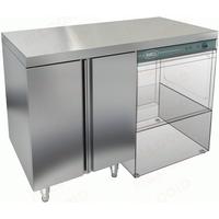 Стол закрытый под посудомоечную машину с полкой HICOLD НБМСЗКП-12/5П фото, купить в Липецке | Uliss Trade