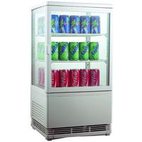 Холодильный шкаф витринного типа GASTRORAG RT-58W фото, купить в Липецке   Uliss Trade