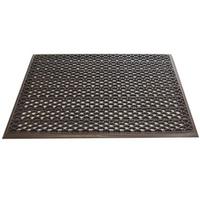 Грязезащитный входной коврик из ПВХ-модулей Scrub-10 коричневый фото, купить в Липецке | Uliss Trade