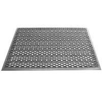 Грязезащитный входной коврик из ПВХ-модулей Scrub-10 серый фото, купить в Липецке | Uliss Trade