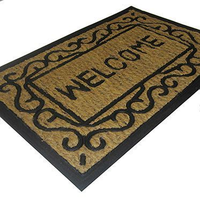 Входной кокосовый коврик Welcome фото, купить в Липецке | Uliss Trade