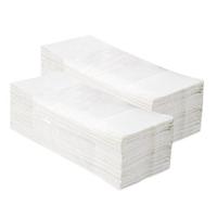 Бумажные полотенца отдельные белые V-КЛАССИК 5000 (20 пачек х 250 листов) фото, купить в Липецке | Uliss Trade