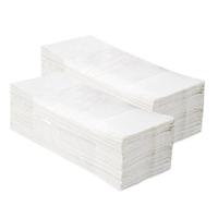 Бумажные полотенца отдельные белые V-ОПТИМУМ 5000 (20 пачек х 250 листов) фото, купить в Липецке | Uliss Trade