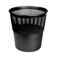 Корзина для бумаги 12 л (черная) фото, купить в Липецке | Uliss Trade