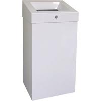 Корзина для мусора с отверстием из эмалированной стали MERIDA STELLA WHITE, 47 л фото, купить в Липецке | Uliss Trade