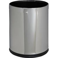 Корзина металлическая OPTIMUM, для бумаги, полированная (10 л) фото, купить в Липецке | Uliss Trade