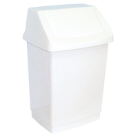 Корзина пластиковая с поворотной крышкой 50 л фото, купить в Липецке | Uliss Trade