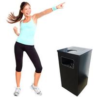 Квадратная урна для мусора 10 л фото, купить в Липецке   Uliss Trade