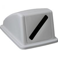 Пластиковая крышка от корзины для сортировки отходов арт.KJS705 (для бумаги) фото, купить в Липецке   Uliss Trade