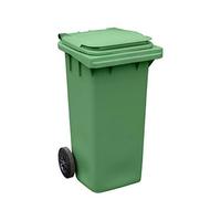 Бак (контейнер) на колесах для мусора 120 литров 1041x555x974 мм фото, купить в Липецке | Uliss Trade