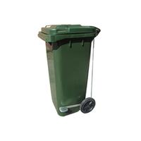 Бак (контейнер) на колесах с педалью для мусора, 120 литров фото, купить в Липецке | Uliss Trade