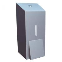 Дозатор жидкого мыла металлический MERIDA STELLA ECONOMY MAXI (матовый) фото, купить в Липецке | Uliss Trade